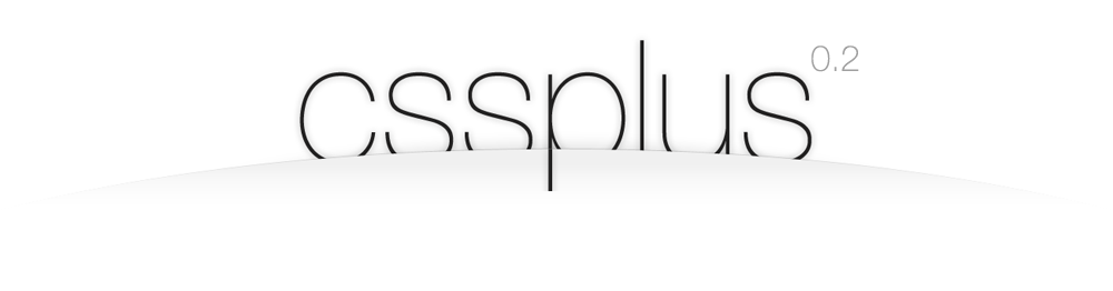 css+ logo